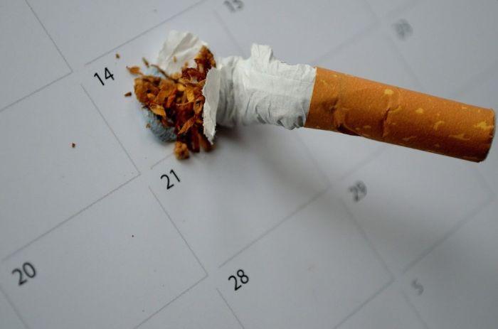 タバコが臭い